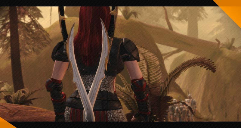 Лучшие моды для Dragon Age Origins Elvhenan Weapons