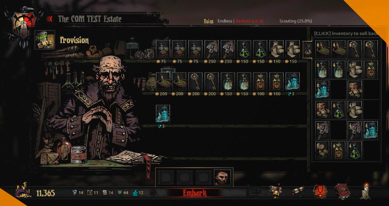 Лучшие моды для Darkest Dungeon Inventory Expansion Lite