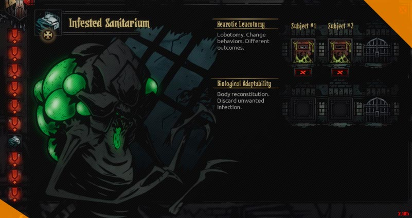 Лучшие моды для Darkest Dungeon Abathur Owns the Sanitarium