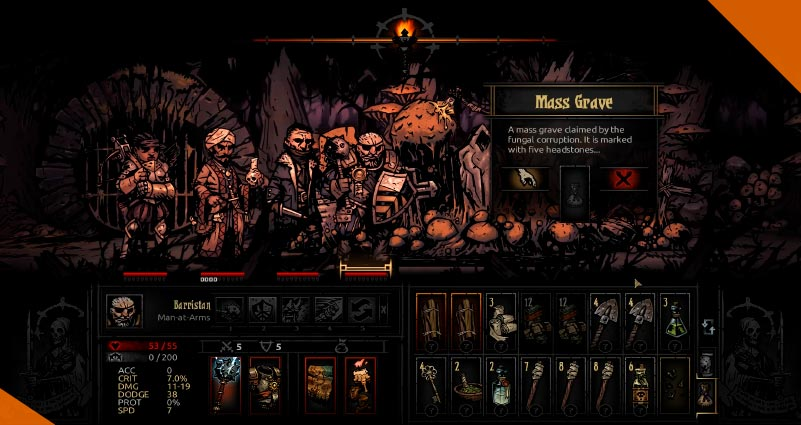 Лучшие моды для Darkest Dungeon the Banshee by Marvin Seo and Clair De Lune