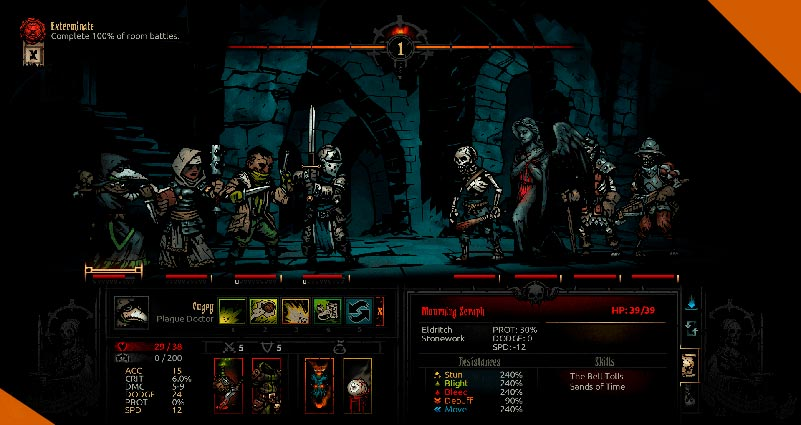 Лучшие моды для Darkest Dungeon Moonlit Dungeon Ruins Enemy Pack