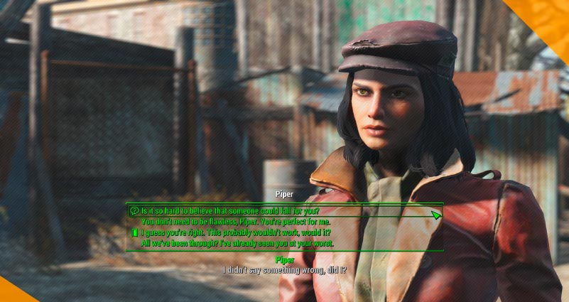 Лучшие моды для Fallout 4 Extended Dialogue Interface