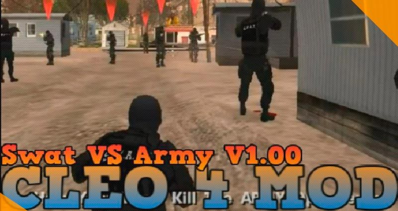 Лучшие моды для GTA San Andreas Swat vs Army Deathmatch