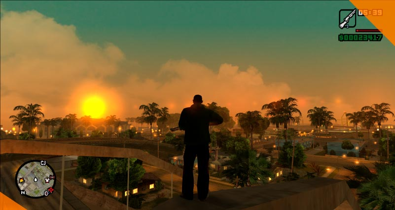 Лучшие моды для GTA San Andreas to live and die in sa