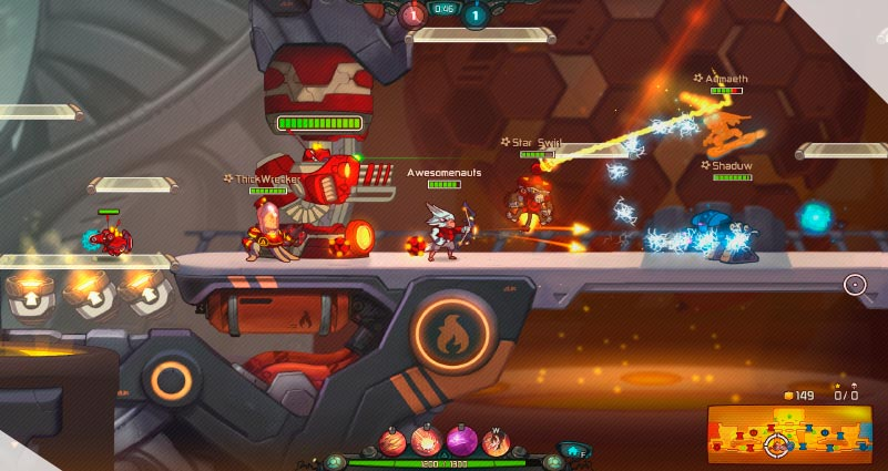 Awesomenauts – the 2D moba