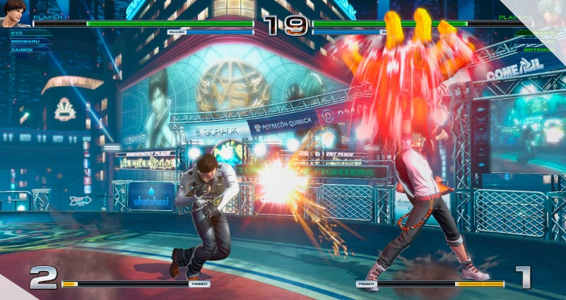 THE KING OF FIGHTERS XIV STEAM