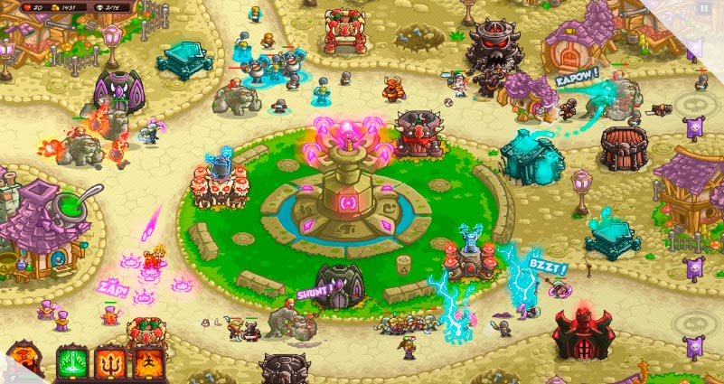 Kingdom Rush Vengeance – Tower Defense