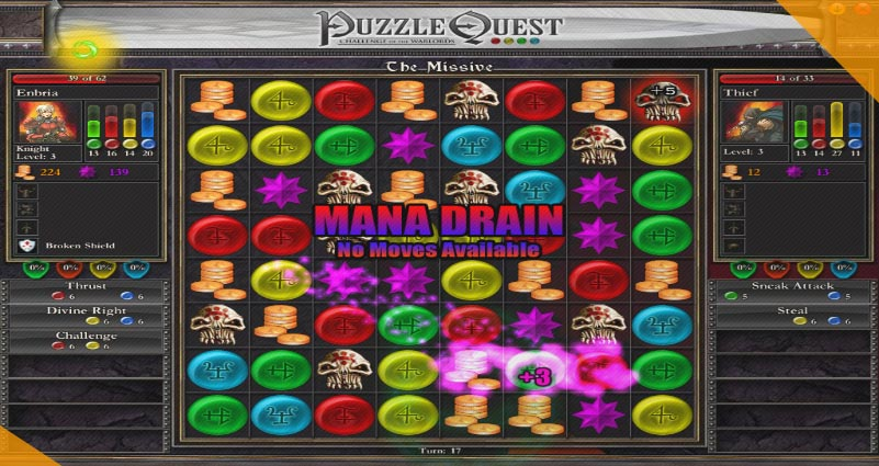 PuzzleQuest Challenge of the Warlords